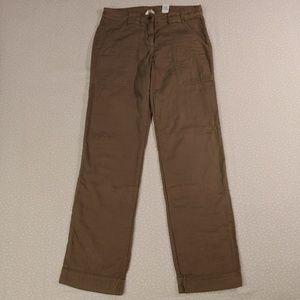 J. Crew City Fit Luxe Utility Pants